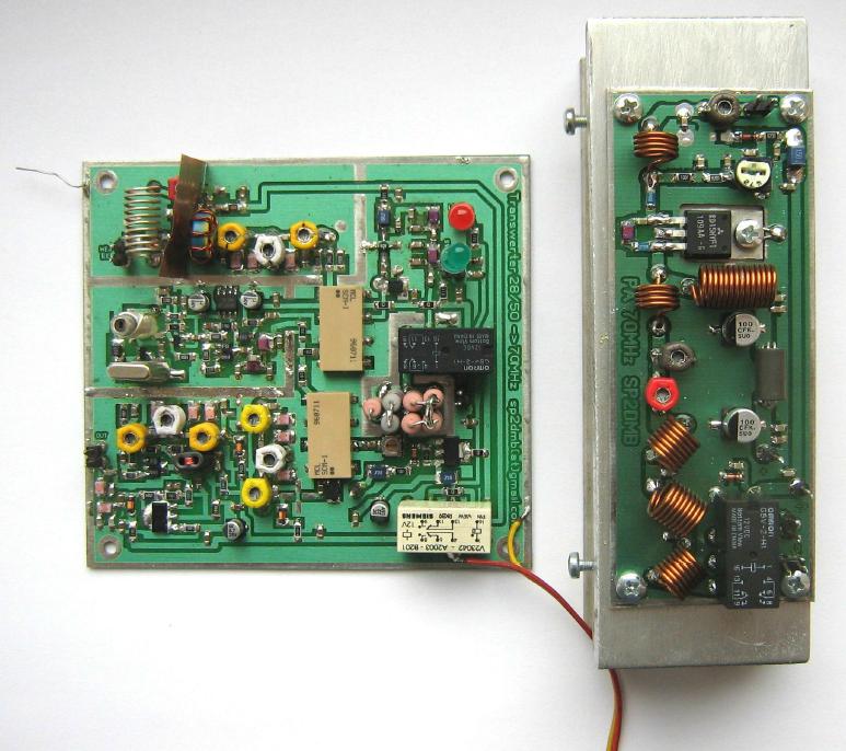 70 MHz transverter - VERON A08 - Centrum