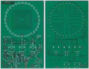 PCB Doppler peiler
