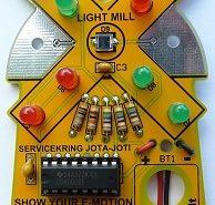 De Light Mill, het soldeerproject van de JOTA