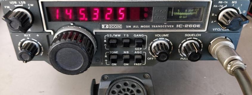 ICOM IC-260E - Foto: Joop PG4I
